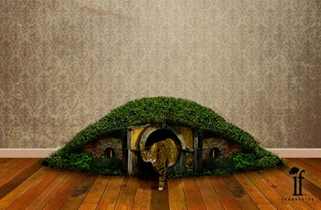 Hobbit Litter Box Furniture