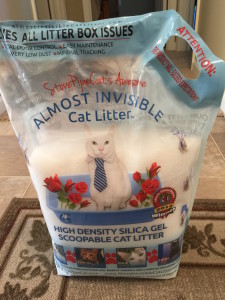 Almost Invisible Cat Litter Pic 1