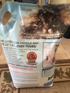 Almost Invisible Cat Litter Pic 2