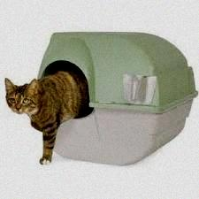 Omega Paw Self-Cleaning Cat Litter Box, Large