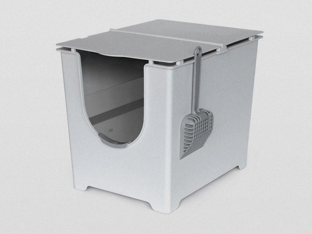 ModKat Flip Top Cat Litter Box